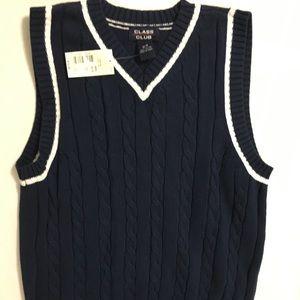 NWT Class Club Sweater Vest